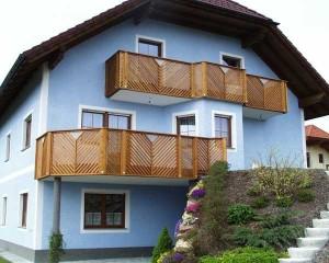 Balkone und Fassaden